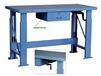 WOOD TOP MANUAL ERGONOMIC HYDRAULIC WORK BENCHES